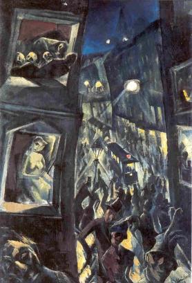 Jakob Steinhardt, The City, 1913