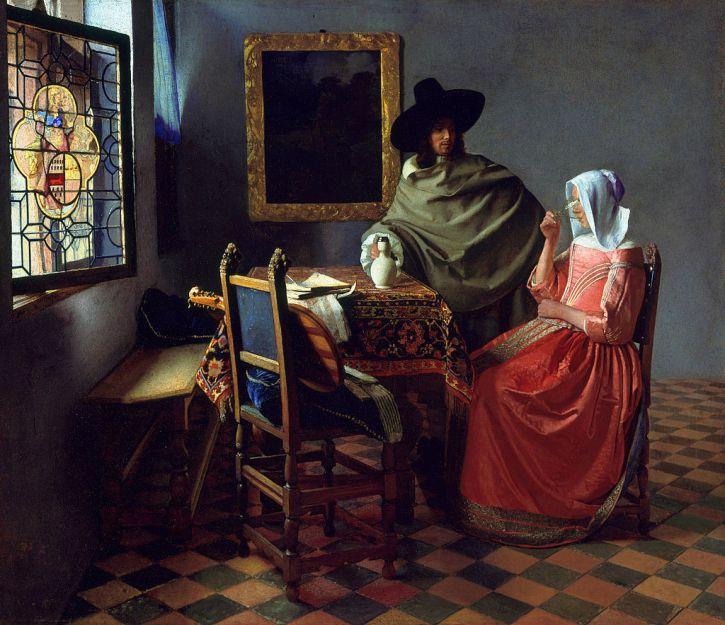 Jan Vermeer, The Wine Glass, 1660
