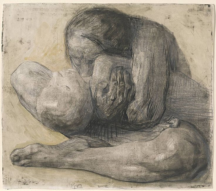 Käthe Kollwitz, Mother with Dead Child,1903