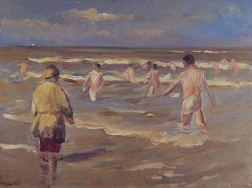 Max Liebermann, Bathing Boys, 1902