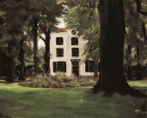 Max Liebermann, Country House in Hilversum, 1901