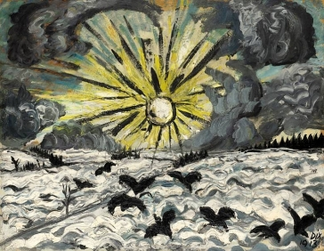 Otto Dix, Sunrise, 1913