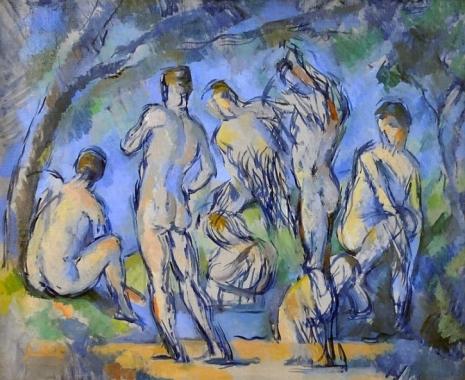 Paul Cezanne, Seven Bathers, c. 1900