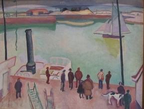 Raoul Dufy, Harbour, 1908