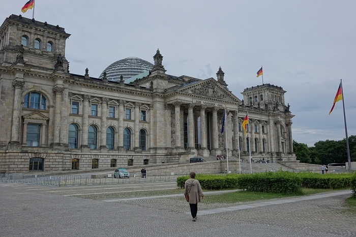 Visiting the Reichstag: the ghosts of history