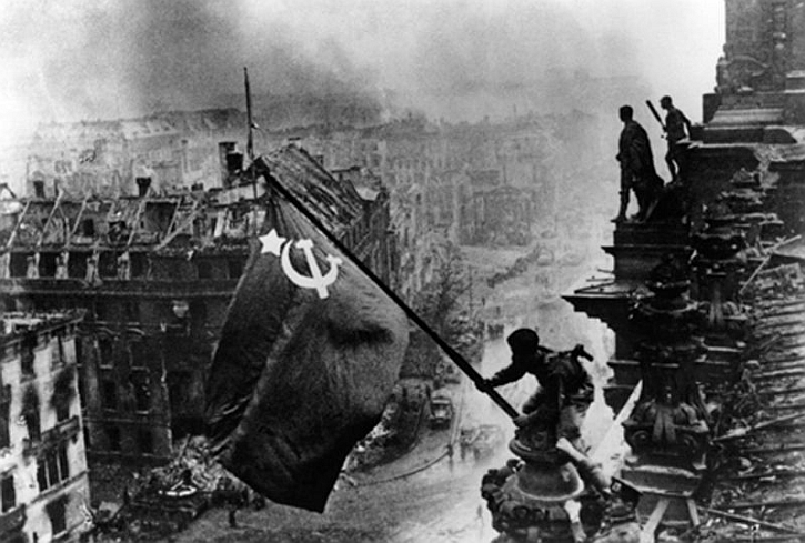 Reichstag Red Army 1945