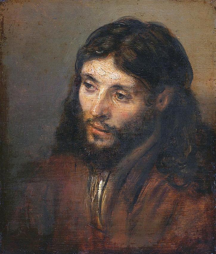 Rembrandt, Head of Christ, 1648