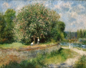 Renoir, Chestnut Tree in Bloom, 1881