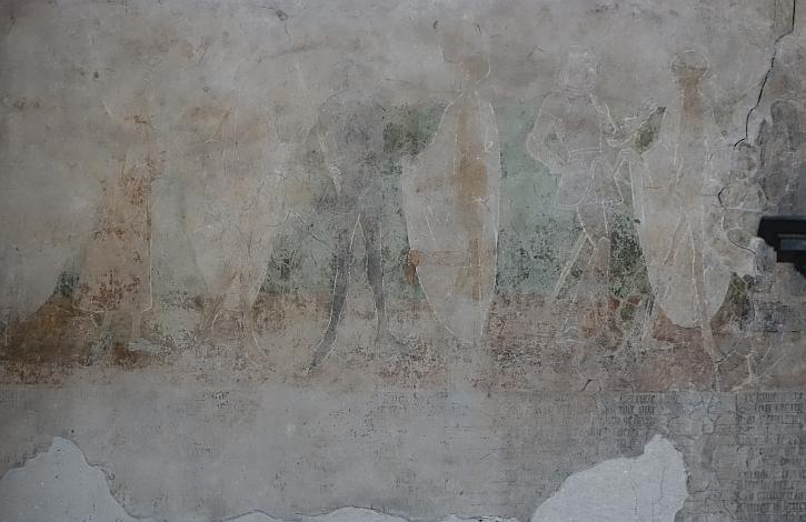 The Marienkirche Dance of Death (detail)