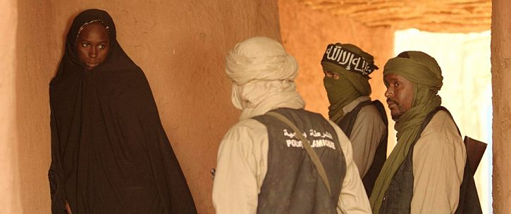 Timbuktu jihadis and woman