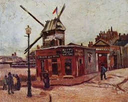 Vincent van Gogh, Le Moulin de La Galette, 1886