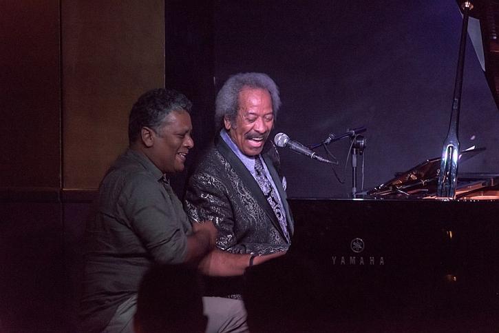 Allen Toussaint With Slim Estrada at Ronnie Scott's Jazz Club