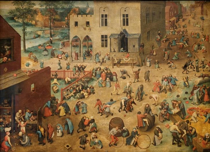 Bruegel, Children's Games, 1560