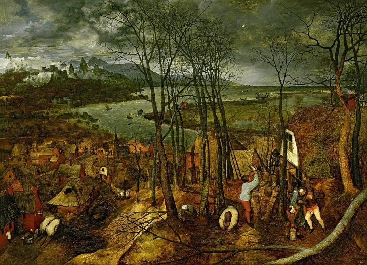 Bruegel, The Gloomy Day - Spring, 1565