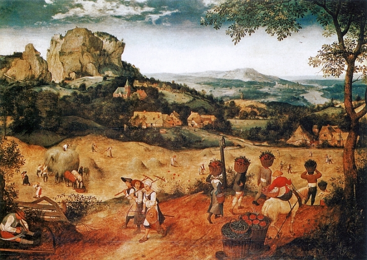 Bruegel, Haymaking, 1565