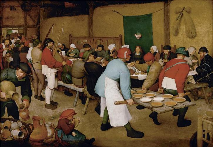 The Peasant Wedding, 1568