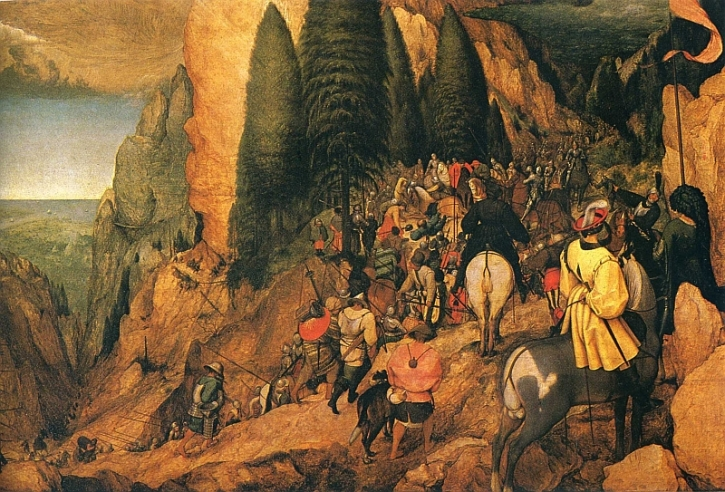 Bruegel, The Conversion of St. Paul, 1567