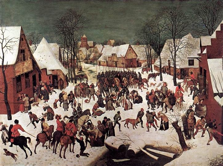 Bruegel, The Massacre of the Innocents, 1565-7