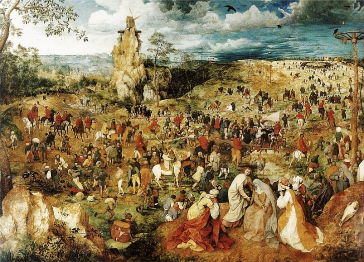 Bruegel, The Procession to Calvary, 1564