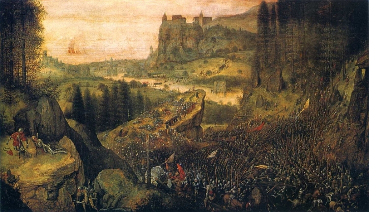 Bruegel, The Suicide of Saul, 1562