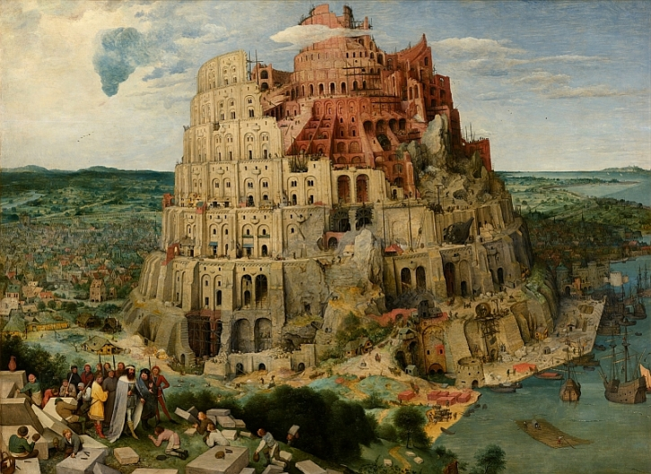 Bruegel, The Tower of Babel, 1563