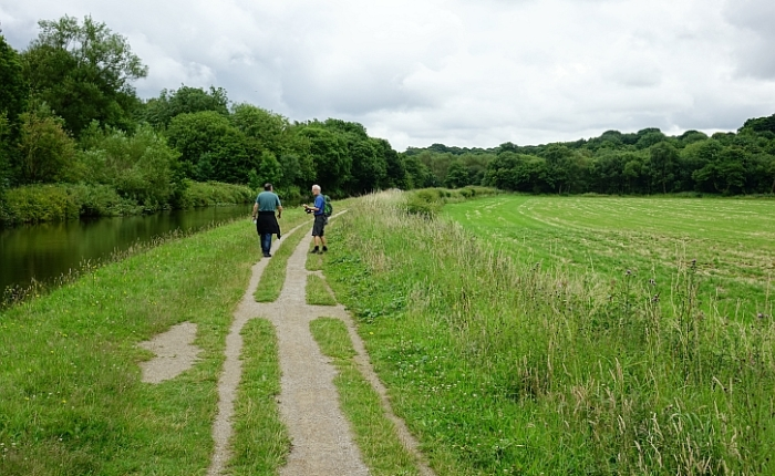 Walking the canal: the road to WiganPier