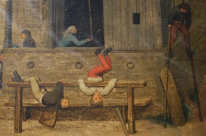 Children's Games, detail: gymnastics