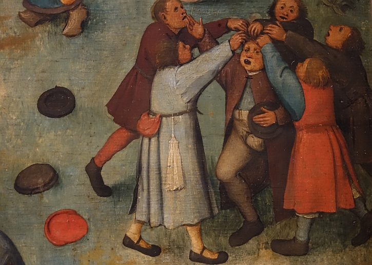 Children's Games, detail: pulling his hair