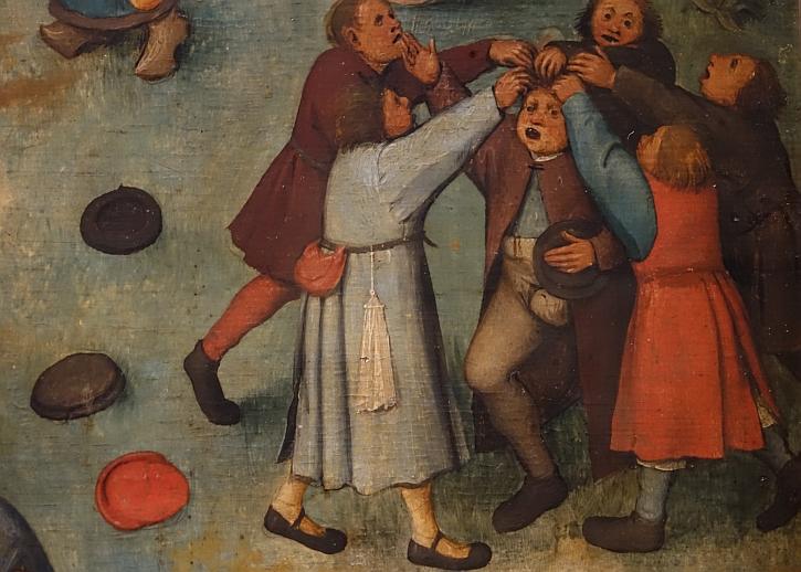 Children's Games, detail: pulling his hair