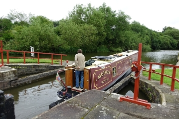 At Dean locks: nifty navigation