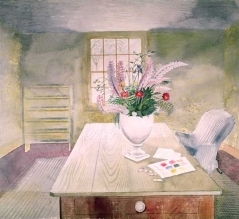 Flowers on a Cottage Table, 1942
