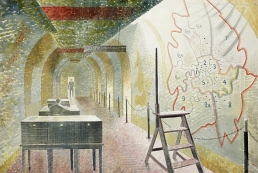 Eric Ravilious, No 1 Map Corridor, 1941
