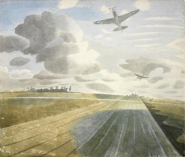 Runway Perspective, 1942