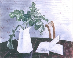 Still Life with Acanthus Leaves, 1938-9