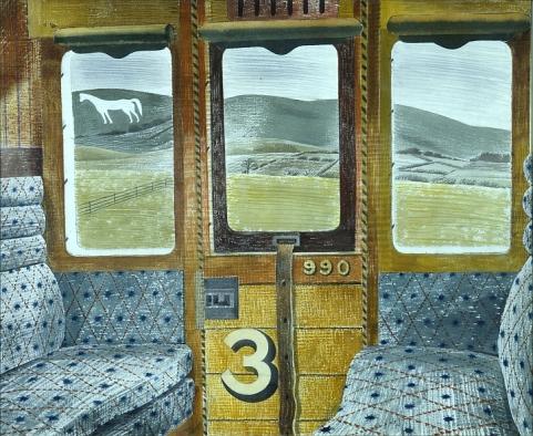 Train Landscape, 1940