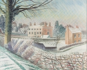 Vicarage in Winter, 1935