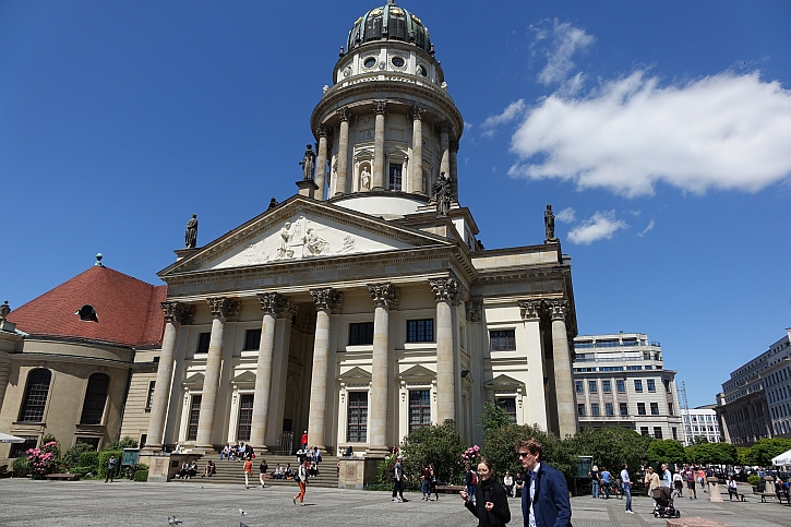 The French Cathedral on the Gendarmenmarkt