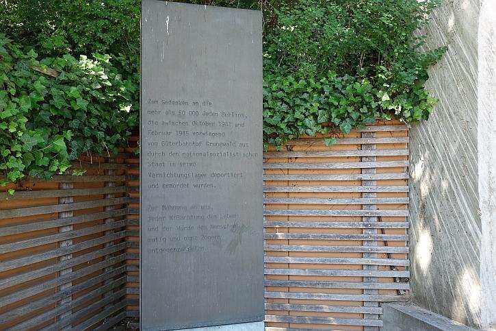 Grunewald Gleis 17 memorial