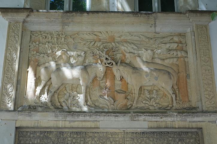 Portico at Jagdschloss Grunewald