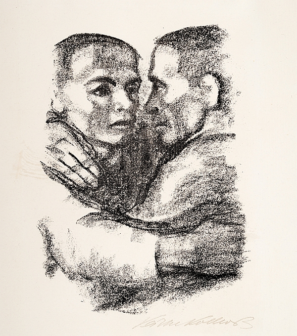 Käthe Kollwitz, Botherhood, 1924