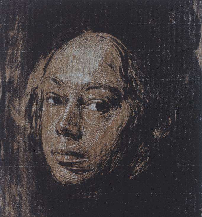Käthe Kollwitz, Self-portrait, 1901