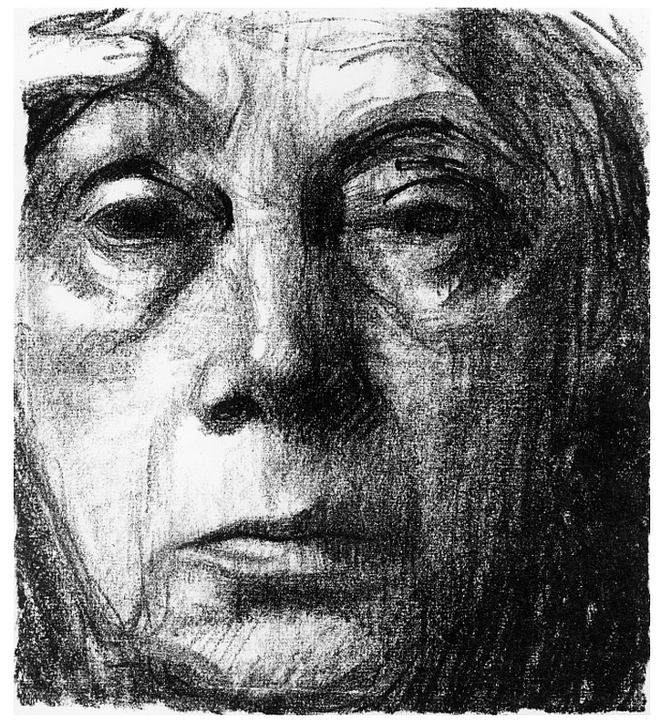 Käthe Kollwitz, Self-portrait, 1934