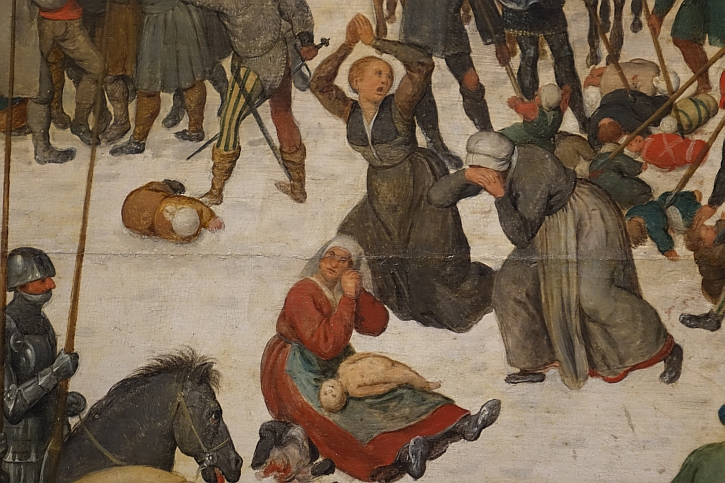 Massacre of the Innocents, detail: dead and butchered children