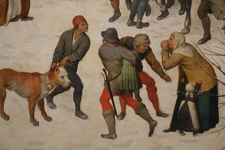 Massacre of the Innocents, detail: mothers pleading