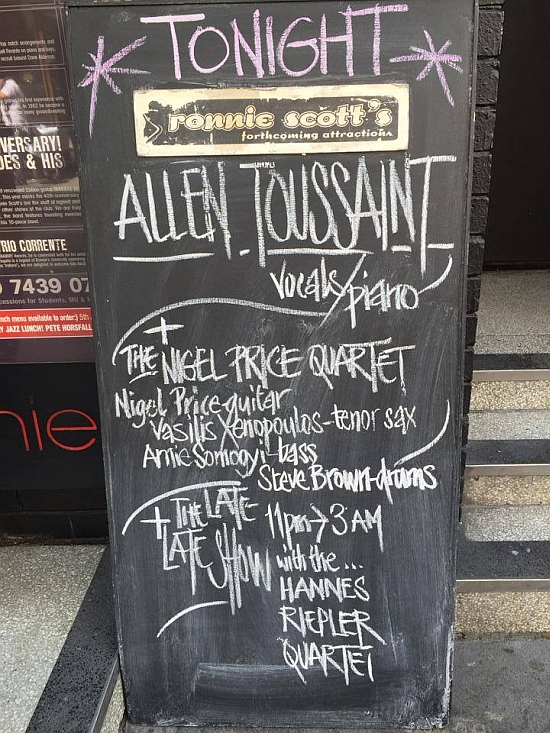 Outside Ronnie Scott's