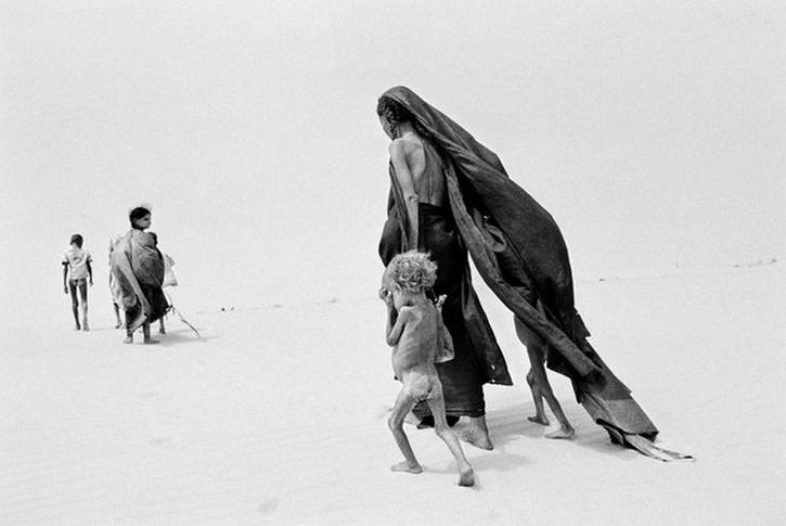 Salgado, Sahel, 1984 desert crossing