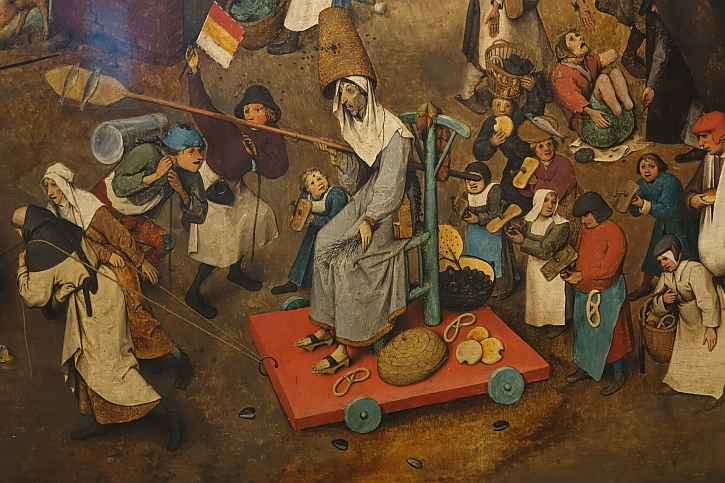The Fight Between Carnival and Lent, detail: Lent