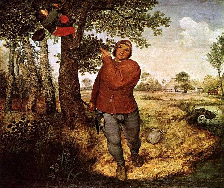 The Peasant and the Nest Robber, 1568