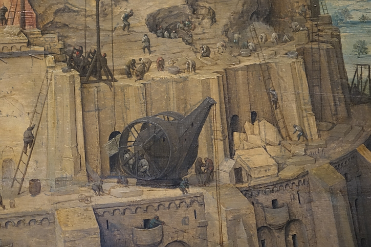 The Tower of Babel, detail 6