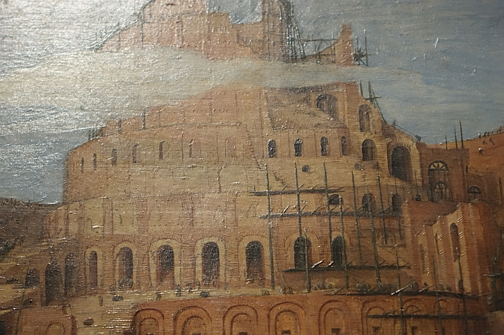 The Tower of Babel, detail: aspiring to heaven